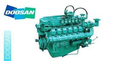موتور گاز سوز دوسان Doosan