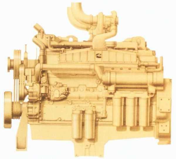 خریذ موتوردیزل کامینز Cummins مدل NTA855-G6