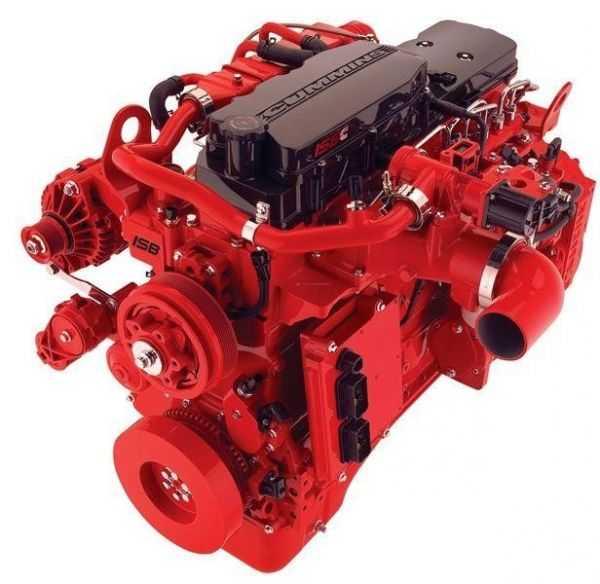 خرید موتور دیزل کامینز Cummins مدل 6ISBE-G1
