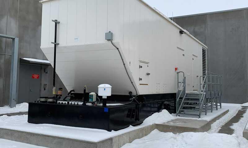 راه اندازی دیزل ژنراتور در هوای سرد